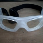 Special eyeglasses for playing basketball