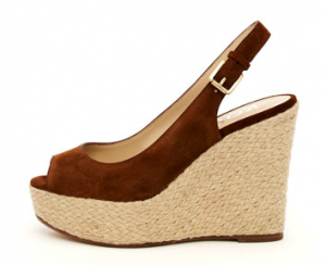 Michael Kors Keelyn Suede Wedge