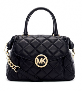 Michael Kors Large Fulton Quilted Leather Satchel