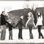 winter family photo - pinterest