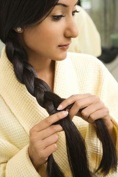 simple hair braid