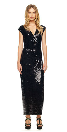 Michael Kors Sequined Maxi Dress