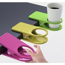 table cup holder clip